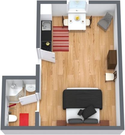Planimétrie Appartement N.36