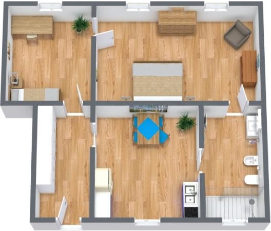 Planimétrie Appartement N.360