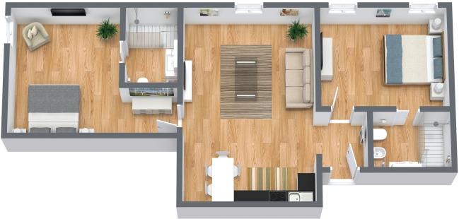 Planimétrie Appartement N.367