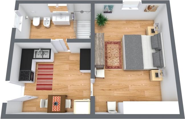 Planimétrie Appartement N.369