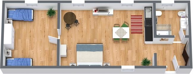 Planimétrie Appartement N.386