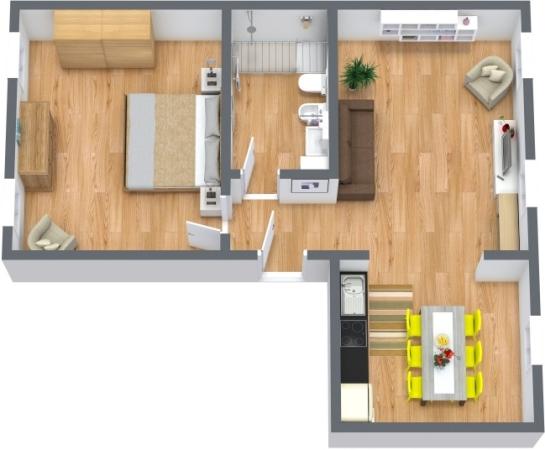 Planimétrie Appartement N.397