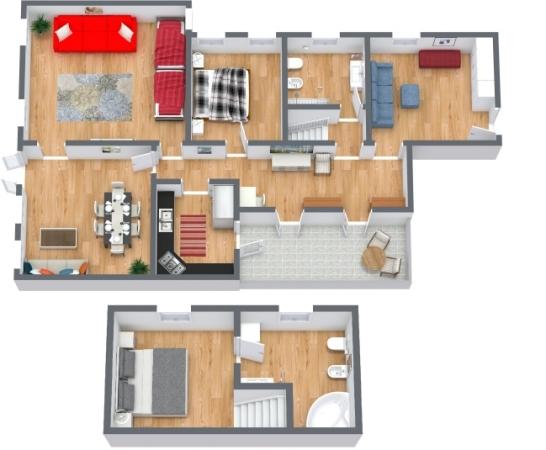Planimétrie Appartement N.409