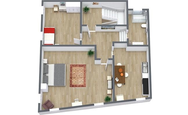Planimétrie Appartement N.410