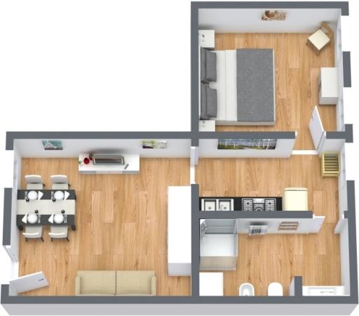 Planimétrie Appartement N.413