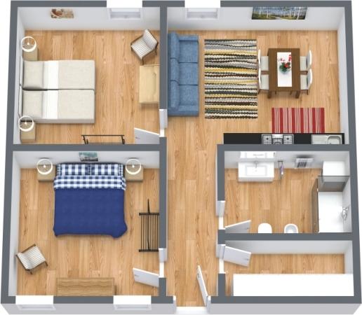 Planimétrie Appartement N.426