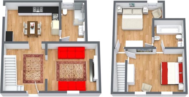 Planimétrie Appartement N.430