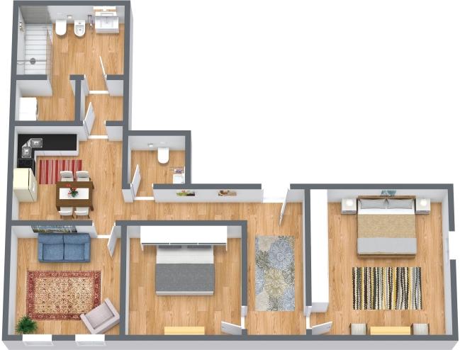 Planimétrie Appartement N.434