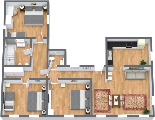 Planimétrie Appartement N.435
