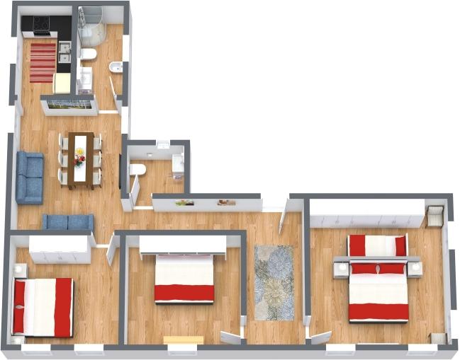 Planimétrie Appartement N.436