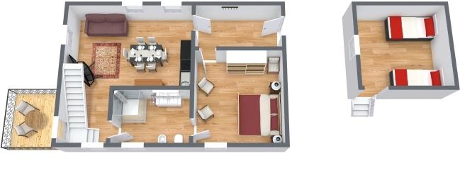 Planimétrie Appartement N.437