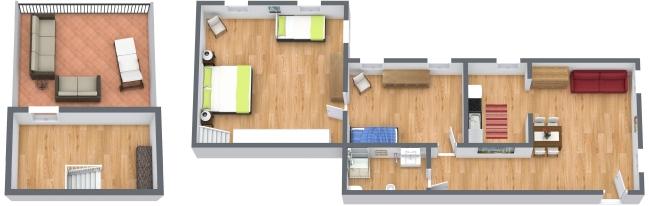 Planimétrie Appartement N.441
