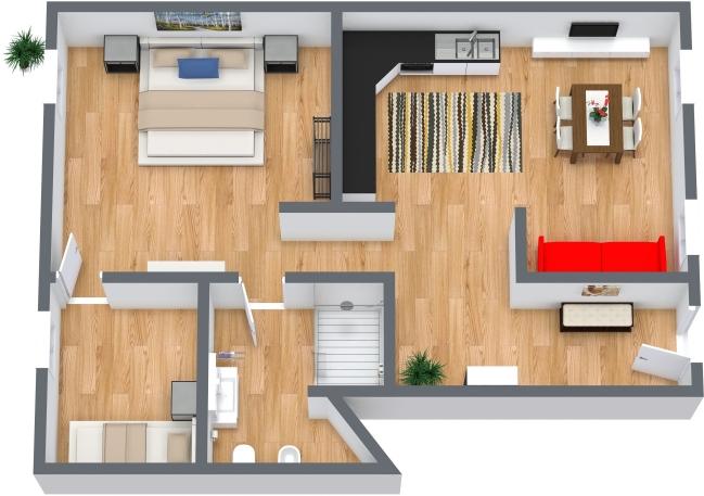 Planimétrie Appartement N.442
