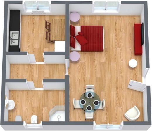 Planimétrie Appartement N.48