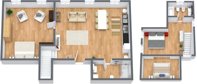 Planimétrie Appartement N.49