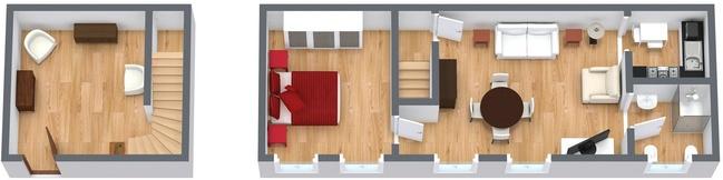 Planimétrie Appartement N.65