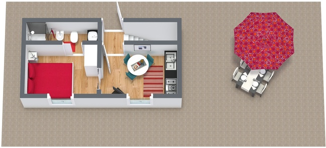 Planimétrie Appartement N.89