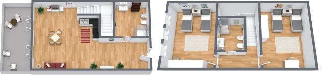Planimétrie Appartement N.93